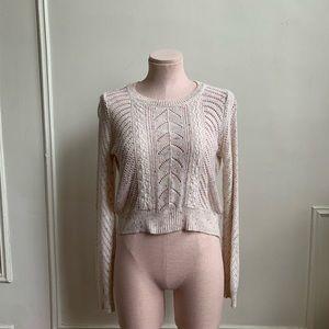 LC Lauren Conrad Confetti Knit Sweater